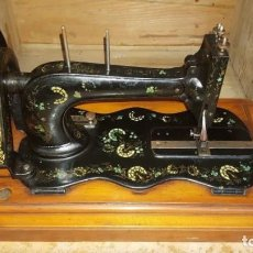 Antigüedades - Máquina de coser Singer antigua y rara modelo 12K Fiddle Base.año 1888 - 159686370