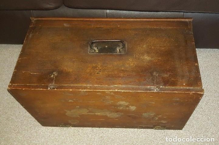 Antigüedades: Máquina de coser Singer antigua y rara modelo 12K Fiddle Base.año 1888 - Foto 6 - 159686370