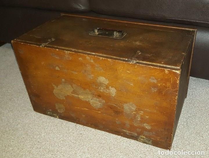 Antigüedades: Máquina de coser Singer antigua y rara modelo 12K Fiddle Base.año 1888 - Foto 10 - 159686370