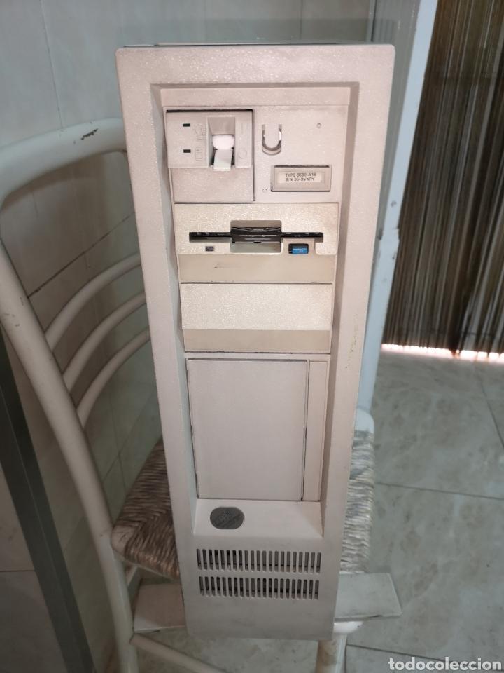 ANTIGUA Y MÍTICA TORRE DE ORDENADOR IBM 8580 DEL AÑO 1989 (Antigüedades - Técnicas - Ordenadores hasta 16 bits (anteriores a 1982))