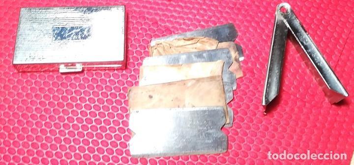 Antigüedades: Brevete, bte SGDG Up to Data nº 1 RARO y COMPLETO,Navaja de afeitar, straight Razor, Rasoir - Foto 9 - 159805934