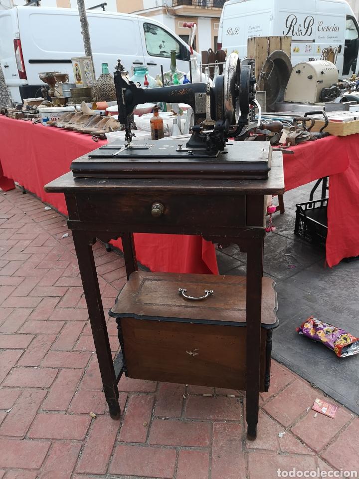 Antigüedades: Máquina de coser - Foto 2 - 159894709