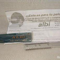 Antigüedades: MARAVILLOSO CORTA CABELLO DE ALBI - CON INSTRUCCIONES Y SU FUNDA . Lote 159964262