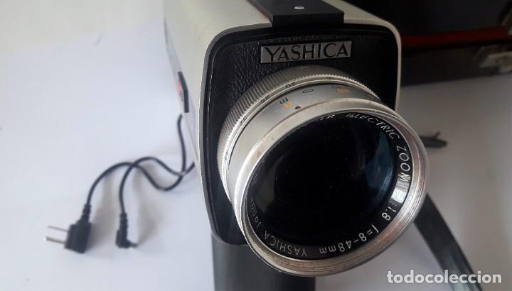 Antigüedades: CAMARA DE SUPER 8 MM. YASHICA ELECTRO 8, LD-6 - Foto 2 - 160048662