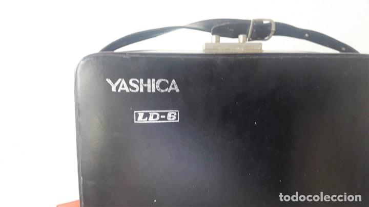 Antigüedades: CAMARA DE SUPER 8 MM. YASHICA ELECTRO 8, LD-6 - Foto 3 - 160048662