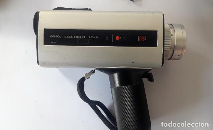 Antigüedades: CAMARA DE SUPER 8 MM. YASHICA ELECTRO 8, LD-6 - Foto 6 - 160048662