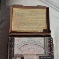 Antigüedades: NOVOTEST MOD. TS 140.. BREVETTATO, MADE IN ITALY.CCM. APARATO ELECTRÓNICO, TESTER, COMPROBADOR. . Lote 160049894