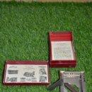 Antigüedades: ALLEGRO MOD. L AFILADORA AFILADOR HOJAS DE AFEITAR - MADE IN LUCERNE SUISSE - SUIZA. Lote 160140486