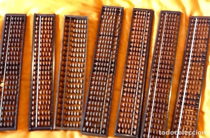 LOTE DE ABACOS JAPONESES. - SOROBAN -ENVIO CERTIFICADO INCLUIDO. (Antigüedades - Técnicas - Aparatos de Cálculo - Ábacos Antiguos)