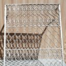 Antigüedades: REJA DE FORJA ARTISTICA ANTIGUA IMPRESIONANTE ESTILO ARABE 1 METRO Y 30 CMS. DE ALTO X 1,05 DE ANCHA. Lote 160186234