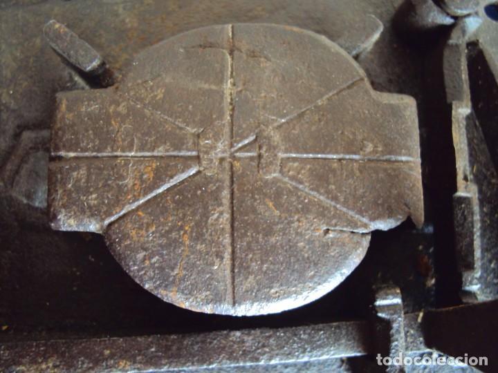 Antigüedades: (ANT-190493)CERRADURA CON LLAVE DE FORJA - SIGLO XVIII-XIX - FUNCIONANDO - Foto 13 - 160246362