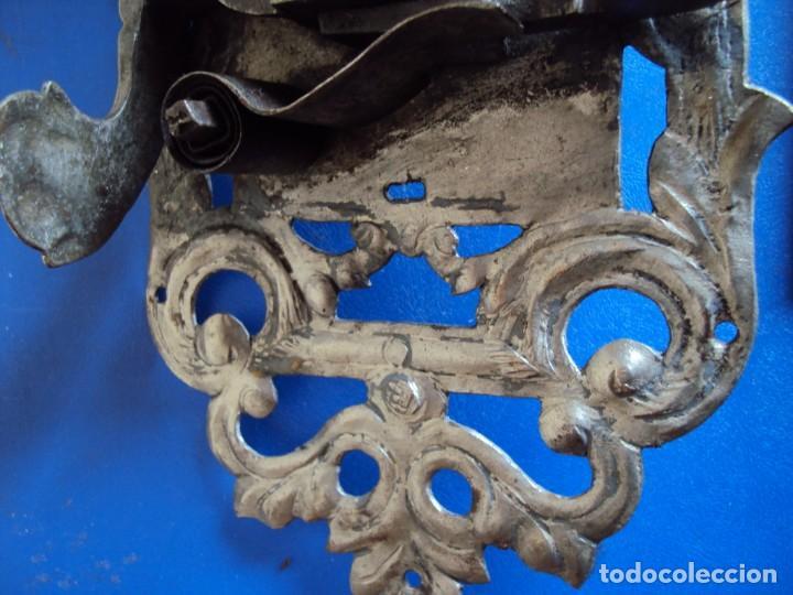 Antigüedades: (ANT-190494)CERRADURA CON LLAVE DE FORJA - SIGLO XVIII-XIX - FUNCIONANDO - Foto 9 - 160246578