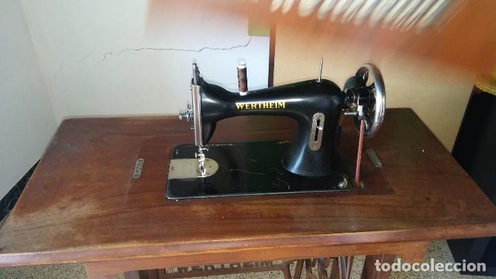 Antigüedades: Maquina de coser wertheim antigua - Foto 3 - 160305410