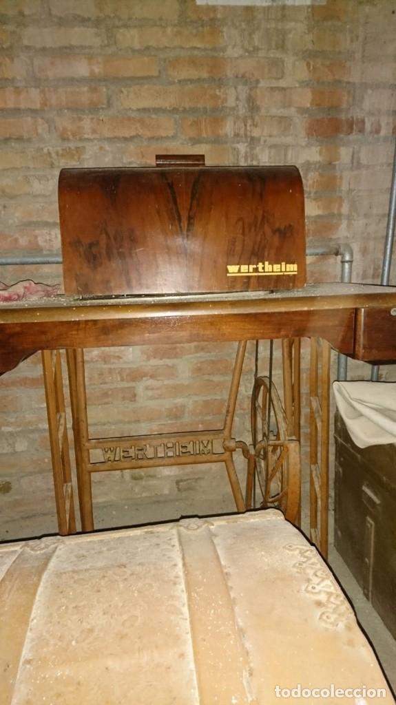 Antigüedades: Maquina de coser wertheim - Foto 2 - 160305702