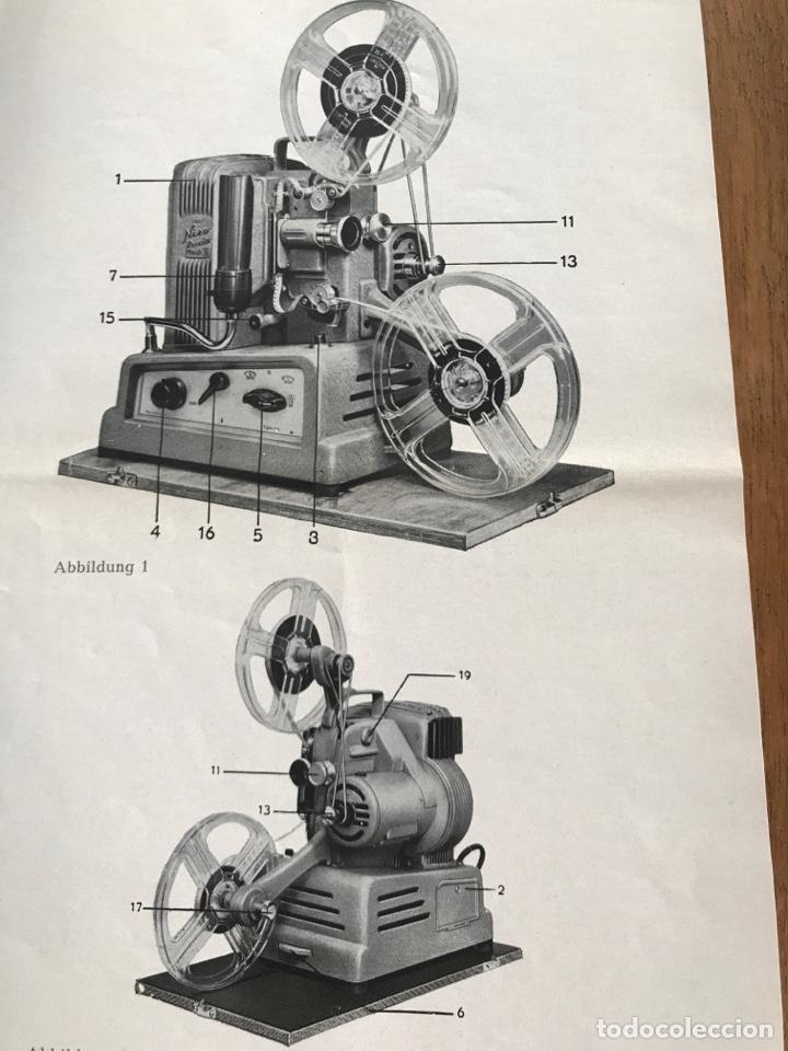 Antigüedades: MANUAL NIZO PROJEKTOR LUCIA MOD II 8 mm - Foto 3 - 160377249