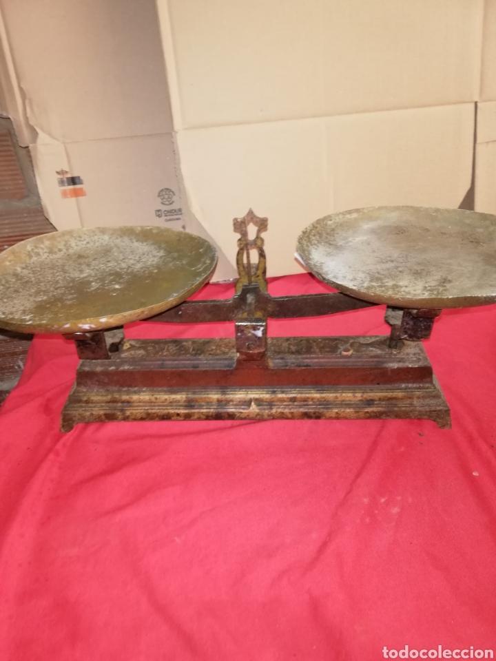 ANTIGUA BALANZA SIGLO XIX (Antiquitäten - Technische - Waagen und Gewichte - Antike Balkenwaagen)