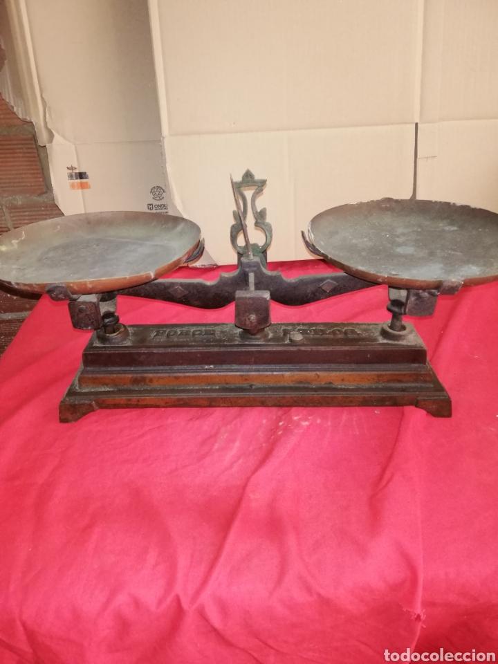 ANTIGUA BALANZA 5KG SIGLO XIX (Antiquitäten - Technische - Waagen und Gewichte - Antike Balkenwaagen)