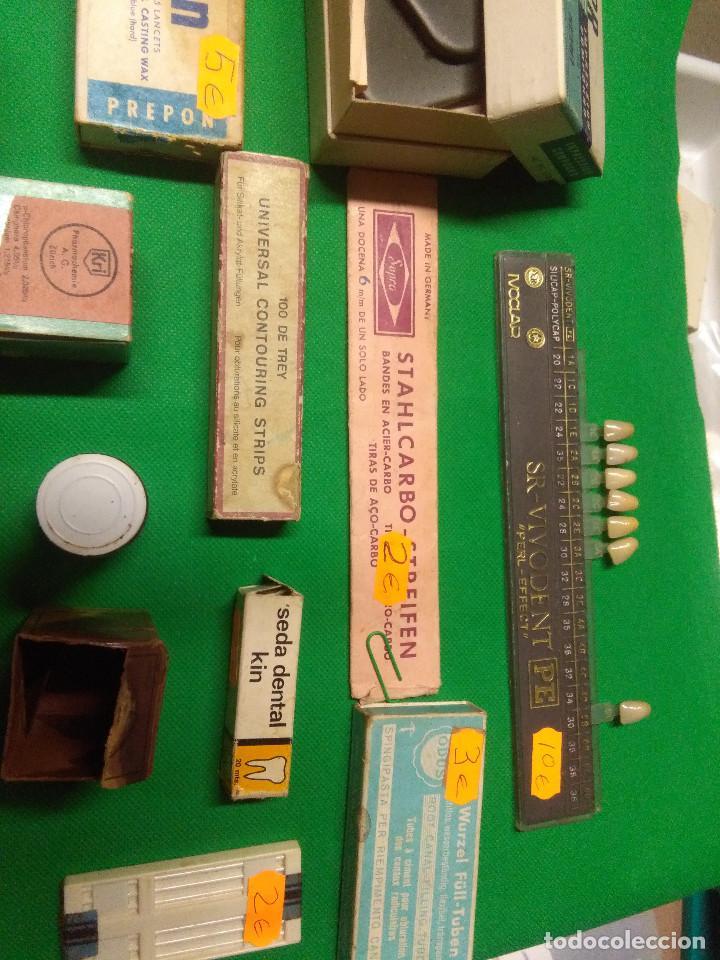 Antigüedades: LOTE MUY VARIADO DE ENSERES/UTENSILIOS DE DENTISTAS - Foto 6 - 160468910