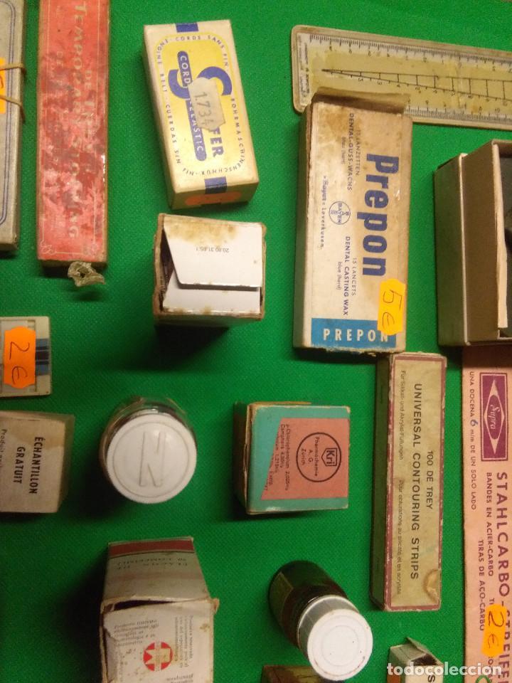 Antigüedades: LOTE MUY VARIADO DE ENSERES/UTENSILIOS DE DENTISTAS - Foto 8 - 160468910