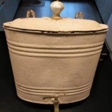 Antigüedades: DEPOSITO DE AGUA CON GRIFO CONSULTORIO MEDICO, MUY ANTIGUO. Lote 160502934