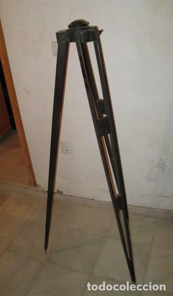 Antigüedades: teodolito fabricado por jose rosell.barcelona 1860 aproximado. - Foto 5 - 160636626