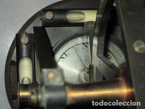 Antigüedades: teodolito fabricado por jose rosell.barcelona 1860 aproximado. - Foto 11 - 160636626