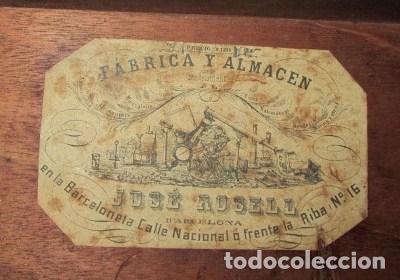 Antigüedades: teodolito fabricado por jose rosell.barcelona 1860 aproximado. - Foto 14 - 160636626