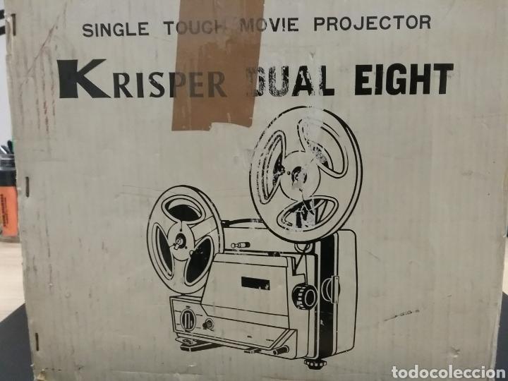 PROYECTOR DUAL KRISPER 8MM (Antigüedades - Técnicas - Aparatos de Cine Antiguo - Proyectores Antiguos)