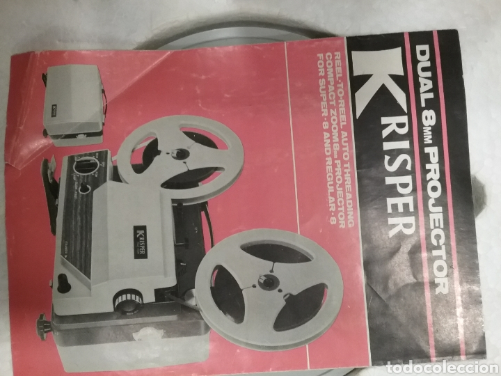 Antigüedades: Proyector dual Krisper 8mm - Foto 4 - 160667721