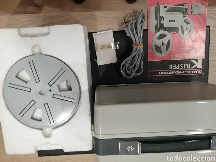 Antigüedades: Proyector dual Krisper 8mm - Foto 3 - 160667721