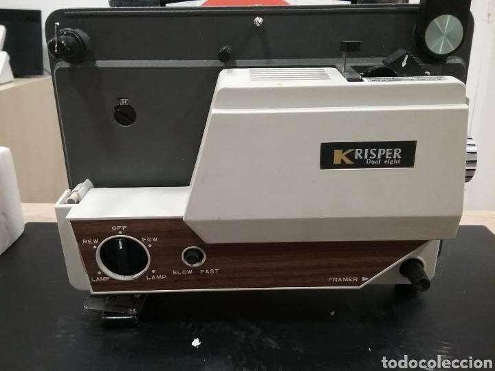 Antigüedades: Proyector dual Krisper 8mm - Foto 5 - 160667721
