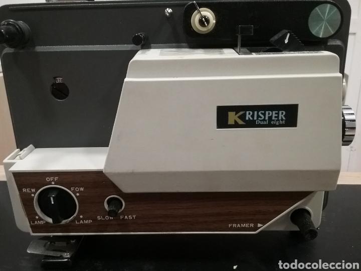 Antigüedades: Proyector dual Krisper 8mm - Foto 7 - 160667721