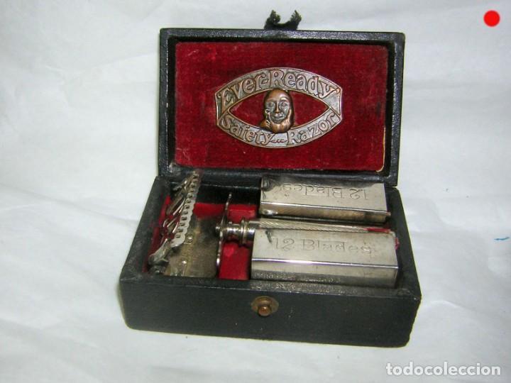 MAQUINILLA, EVER READY, AMERICAN SAFETY RAZOR CO. (Antigüedades - Técnicas - Barbería - Maquinillas Antiguas)