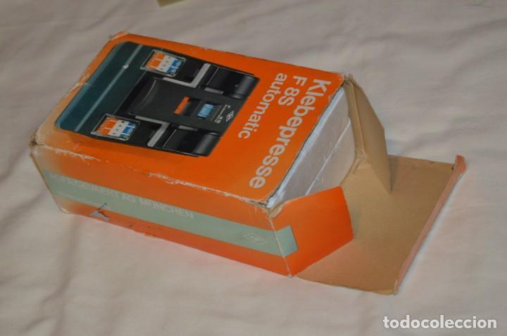 Antigüedades: ANTIGUA EMPALMADORA DE PELÍCULA SUPER 8 - FILM SPLICER - AGFA F8S AUTOMATIC - EN CAJA - ENVÍO 24H - Foto 15 - 160884930