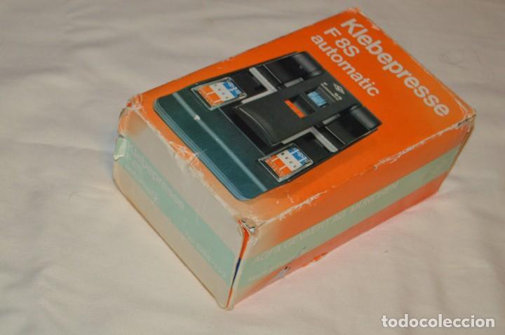 Antigüedades: ANTIGUA EMPALMADORA DE PELÍCULA SUPER 8 - FILM SPLICER - AGFA F8S AUTOMATIC - EN CAJA - ENVÍO 24H - Foto 16 - 160884930