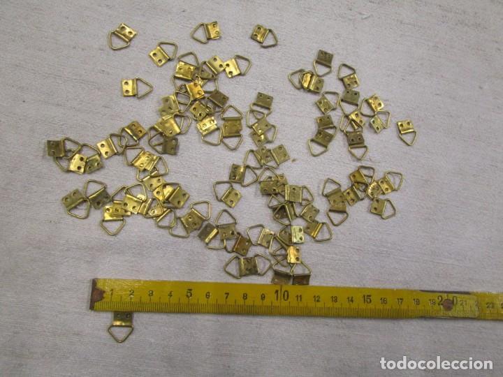 LOTE 50 ALCAYATAS DE METAL DE LOS 60'S PARA COLGAR CUADROS Y ORTOS USOS, 100X100 METAL, 1S (Antigüedades - Técnicas - Otros Instrumentos Ópticos Antiguos)