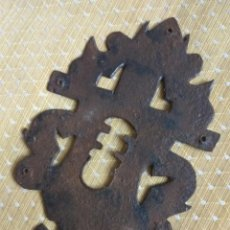 Antigüedades: BOCALLAVE DE FORJA SIGLO XVIII-XIX. Lote 161075090