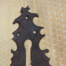 Antigüedades: BOCALLAVE DE FORJA SIGLO XVIII-XIX. Lote 161075558