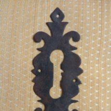 Antigüedades: BOCALLAVE DE FORJA SIGLO XVIII-XIX. Lote 161077446