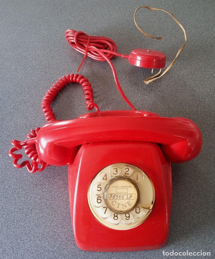 TELÉFONO HERALDO CTNE (Antigüedades - Técnicas - Teléfonos Antiguos)
