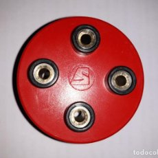 Antigüedades: NUDO MONTAJE 4 BORNAS PRUEBAS CONTROL ELECTRICIDAD ELECTRÓNICA INDUSTRIA DECORACION ESCAPARATE. Lote 161262898