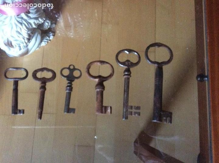 Antigüedades: Llaves antiguas - Foto 5 - 161281434