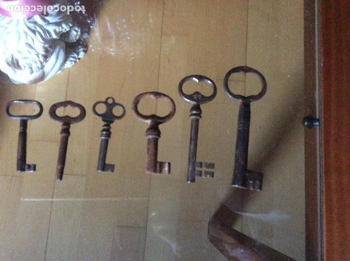 Antigüedades: Llaves antiguas - Foto 6 - 161281434