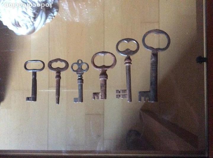 LLAVES ANTIGUAS (Antigüedades - Técnicas - Cerrajería y Forja - Llaves Antiguas)