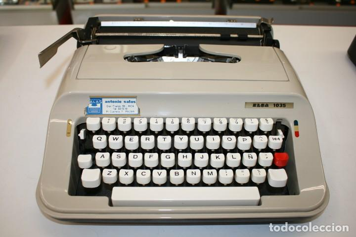 Antigüedades: Máquina de escribir ELSA 1035 - Foto 2 - 161321754