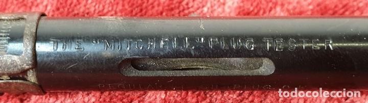 Antigüedades: TESTER PARA CORRIENTE DE 12 V. MITCHELL PLUG TESTER. LONDON. CIRCA 1950. - Foto 4 - 161337350