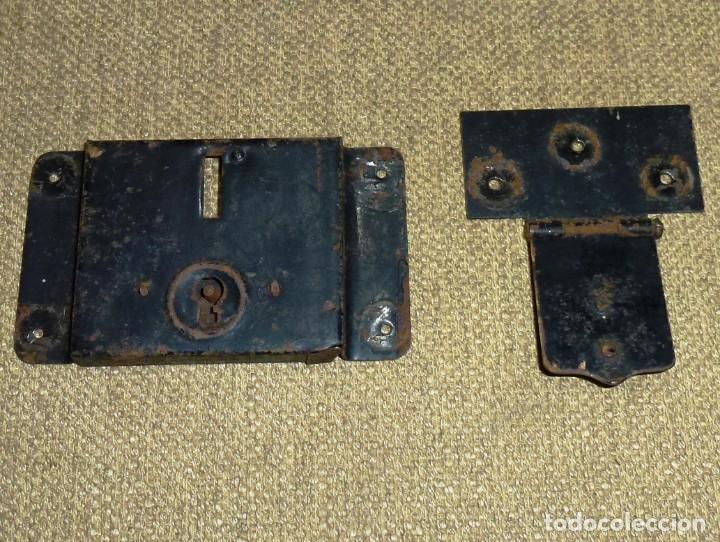 Antigüedades: Cerradura para baul.Sin llave. - Foto 2 - 174532554