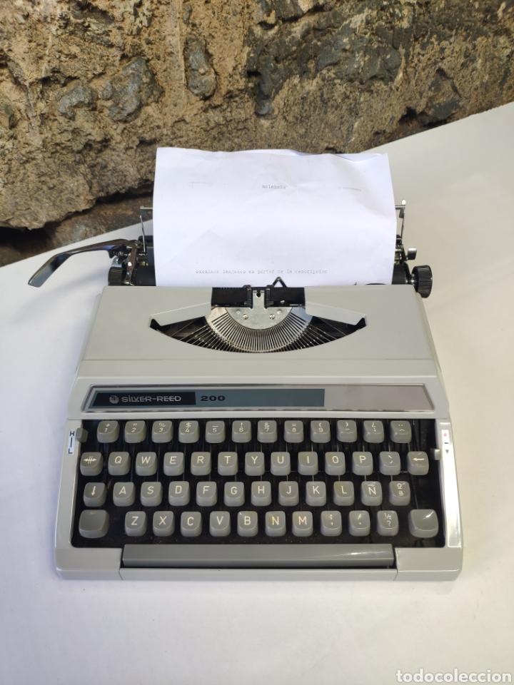 MAQUINA DE ESCRIBIR SILVER REED 200 (Antigüedades - Técnicas - Máquinas de Escribir Antiguas - Otras)