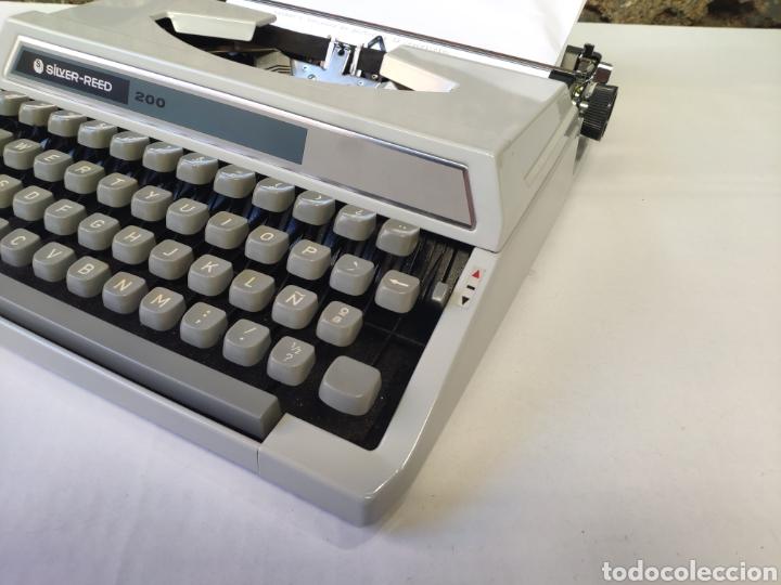 Antigüedades: Maquina de escribir silver reed 200 - Foto 7 - 161467158