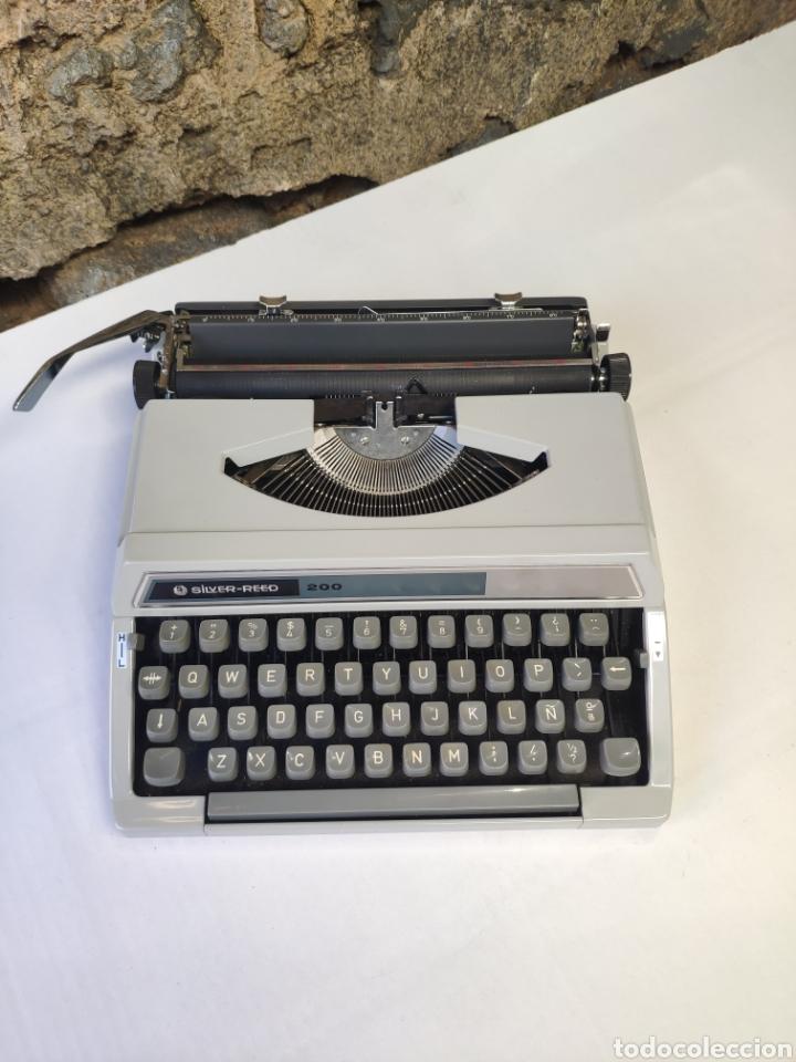 Antigüedades: Maquina de escribir silver reed 200 - Foto 9 - 161467158
